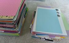 Cardstock Paper Joblot Bundle Bulk Cardmaking Craft 1.5kg