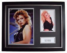 Kim Wilde Signed FRAMED Photo Autograph 16x12 display Music Memorabilia COA