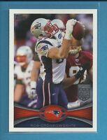 Rob Gronkowski 🏈 2012 Topps All PRO Card # 70 🔥 New England Patriots Football