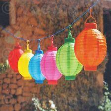 5 Stück LED Gartenlaterne Papierlaterne Lampion Lampions Ballon Papierlampion