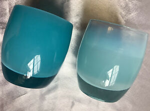 ****OCEAN**&**CABO*****GLASSY*BABY*GLASS*VOTIVES*CANDLE*HOLDER*BOX*TAGS*BAG*NEW*