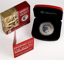 Australia 2012 Lunar year of the Dragon 1oz Proof Silver Coin *Special Edition*