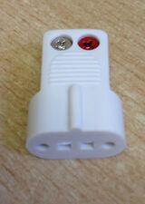 BOSE ORIGINALI filo nudo Jewel Cube Spina Adattatore AC2 AC-2 bianco nuovo inutilizzato