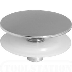 TAPHOLE TAP HOLE STOPPER CHROME PLATED WITH LOCKING NUT