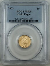 2003 $5 Gold American Eagle Coin, PCGS MS-69