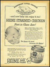 1955 vintage ad for Heinz Baby Food -347