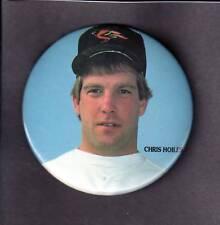 """1992 Jka Chris Hoiles Baltimore Orioles Pin Back Button 3 """""""