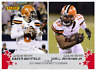 2019 Baker Mayfield Odell Beckham Jr. Panini Instant #35 Duo Connects 1st TD PS