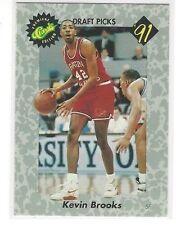 1991 CLASSIC BASKETBALL DRAFT PICKS KEVIN BROOKS #12 - SW LOUISIANA