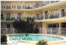 Blarney Castle Motel near Fort Lauderdale Beach Vintage Cuteness Postcard c