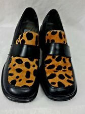 WOMAN'S KENNETH COLE REACTION BLACK SIZE 7.5 LOAFER SHOES
