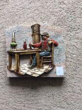 Décoration papy à Table sur plaque de marbre Vintage (1)