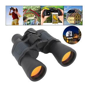 60X60 Zoom Binoculars Day Night Vision Travel Outdoor HD Hunting Telescope USA