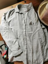 Ladies Crew Clothing Brushed Cotton Shirt Size 12