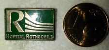 PINS PIN'S HOSPITAL HOPITAL ROTHSCHILD AP-HP PARIS EMAIL PORT GRATUIT EN FRANCE