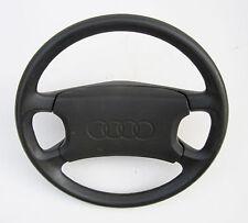 """STEERING WHEEL, black, 15"""" dia., used, '88-'91 Audi 80 Quattro, Code B3"""