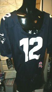 Women's NFL Onfield New England Patriots Brady 12 Jersey Size L Large NEW NWT
