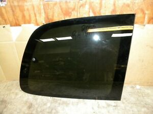 2000 Chevy Venture Factory vent window right rear vent window glass