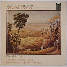 VAUGHAN WILLIAMS: On Wenlock Edge EMI Odeon HQS 1236 vinyl lp NEAR MINT
