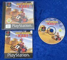 Moorhuhn Kart, PS1, PlayStation 1 Spiel, OVP und Anleitung