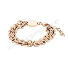 Energetix-Magnetschmuck Damen Edelstahl-Magnetarmband in rosévergoldet 2963 M-XL