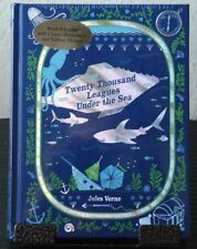 "NEW-SEALED-LEATHER ""Twenty Thousand Leagues Under the Sea"" by Jules Verne HC H2"