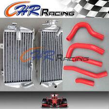aluminum radiator AND HOSE FOR Honda CRF250R CRF 250R CRF250 2014 2015 14 15