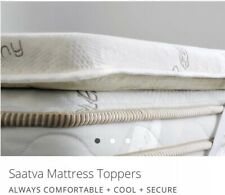Saatva Dreams New Queen Foam Topper Organic Cotton