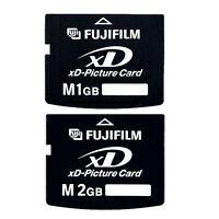 1GB/2GB FUJI Type M XD-Picture Memory Card for Fujifilm Digital Cameras
