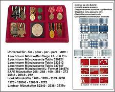 Look Sammeltableaus 6 Fächer 95 x 95 x 17 Für Schützenabzeichen Sport Medaillen