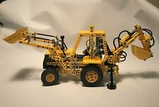 LEGO SET 8862-1 BACKHOE / PELLETEUSE – 100 % COMPLETE - WITH INSTRUCTIONS