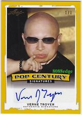 "2014 POP CENTURY AUTO:VERNE TROYER #1/1 OF ONE AUTOGRAPH ""AUSTIN POWERS/MINI ME"""