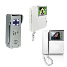 Video Intercom Door Phone 4.3 Inch Monitor +  IR Camera Wired Video Doorbell