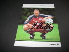 Lothar Matthäus alte FC Bayern München #2 Autogrammkarte ORIGINAL