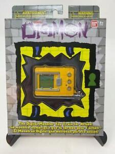 SOLID YELLOW Digimon Bandai Digivice Virtual Pet Monster UK Stock