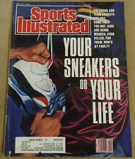 Sports Illustrated May 14, 1990: Your Sneakers or Your Life 🔫 NIKE JORDAN 5s V5