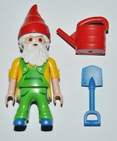 S11H10 Enano jardín playmobil,serie 11 9146,garden dwarf