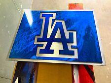 LA Dodgers - Handmade Wall Art - Mancave - Candy Gloss Paint - Mancave