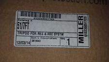 Miller, # 612230051723, Cat #51/7ft, Tripod, New, $559.00 free ship