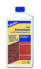1L Imprägnierung Pflegeprodukt Lithofin Cotto Extraschutz Terrakotta