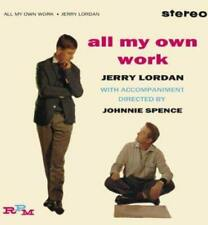 Jerry Lordan - All My Own Work (NEW CD)