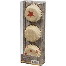 Birkmann Mini Muffin Papierförmchen LITTLE CHRISTMAS 72St Muffinförmchen Beige