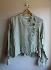 BRYN WALKER linen SKIRT smock kimono oversize Totokaelo top SET jacket simple S