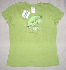 tee shirt coton neuf disney vert disney bourriquet pour femme taille  L 40-42