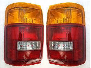 *NEW* TAIL LIGHT LAMP SUIT TOYOTA HILUX SURF YN130 & 4 RUNNER 1991-1997 LH + RH