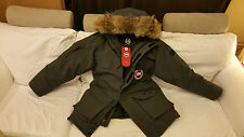 2018 LATEST CONCEPT EDITION HOLOGRAM GRAPHITE CANADA GOOSE EXPEDITION XL PARKA
