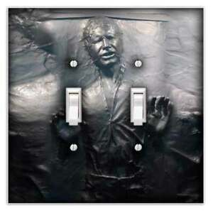 Hans Solo Decorative Double Toggle Light Switch Cover - Switch Plate Cover