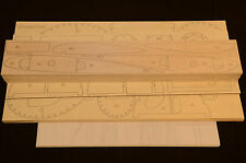 "Giant 1/3 Scale HOWARD PETE Laser Cut Short Kit, Plans & instruction 80""WS"