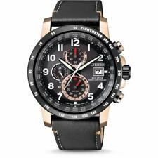 Citizen Eco-Drive Men's Radio Controlled Chronograph 43.5mm Watch AT8126-02E