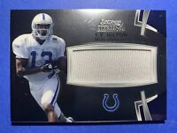 2012 Bowman Sterling T.Y. Hilton RC PATCH Indianapolis Colts